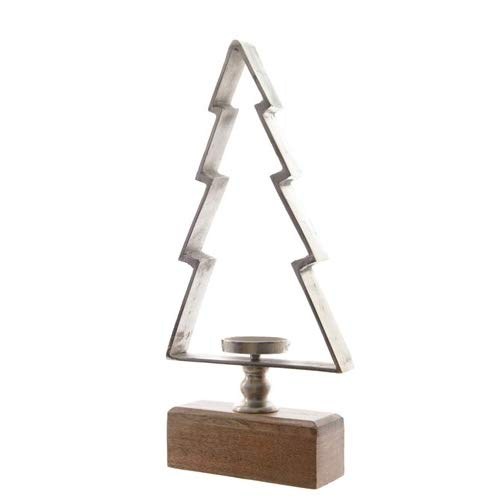 Kaemingk International Christmas Tree Candle Holder