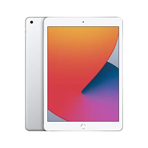 2020 Apple iPad (10.2-inch, Wi-Fi, 32GB) – Silver (8th Generation)