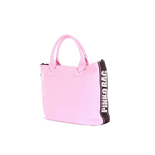Mujer Bolso Shopper Algodon 1h20dry4c9p36 Tipo Rosa Pinko dxvzqUd