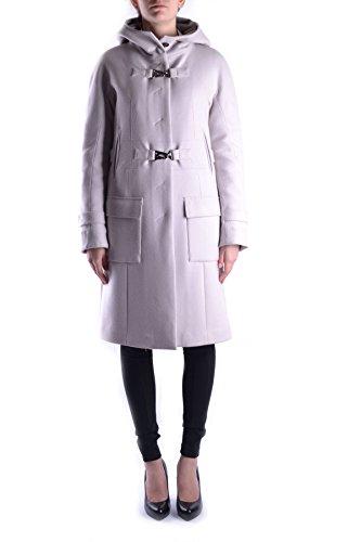 Lana Abrigo MCBI074013O National Mujer Beige Costume OHnITwT