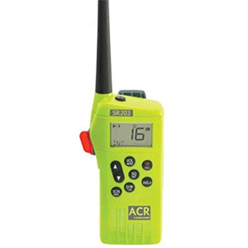 ACR SR203A VHF GMDSS Survival Radio Marine , Boating Equipment (Radio Gmdss Survival)