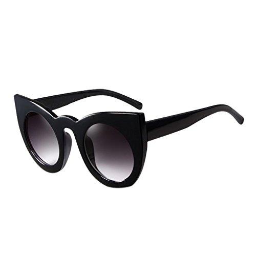 cbb5a5b750 Outlet Providethebest Mujeres de la muchacha grande redonda del marco de la protección  UV400 gafas de