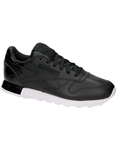 CHAUSSURES REEBOK CLASSIC LEATHER MATTE SHINE BLACK