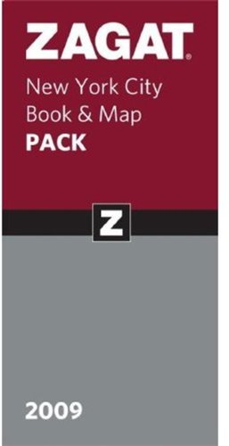 2009 New York City Book & Map Pack: New York City Restaurants 2009, Map (ZAGAT Guides) ebook