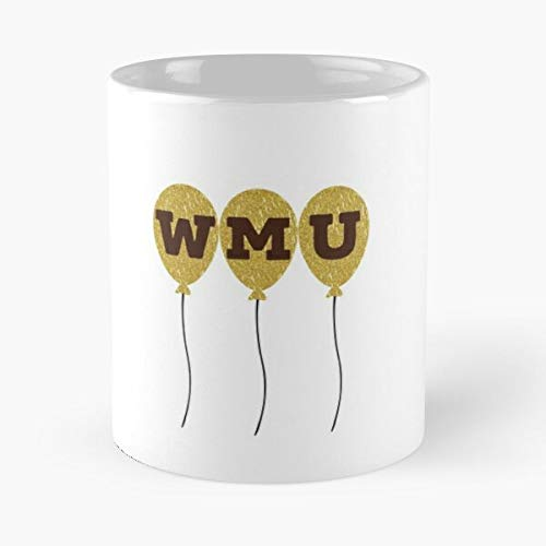 Western University Halloween (Western Michigan University Classic Mug - The Funny Coffee Mugs For Halloween, Holiday, Christmas Party Decoration 11 Ounce White)
