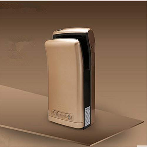Price comparison product image Automatic Hotel High-Speed Double-Sided Jet Dryer Hand Dryer, Gold