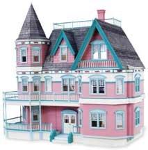 - Queen Anne Dollhouse Kit