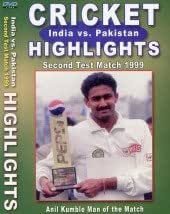 India vs Patistan: 2nd Test 1999