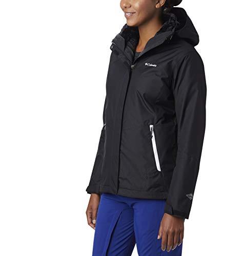 Columbia Women's Bugaboo II Fleece Interchange Jacket, Waterproof and Breathable