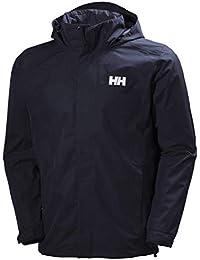 Helly Hansen Men's Dubliner Jacket Waterproof, Windproof, Breathable Shell Rain Coat with Packable Hood