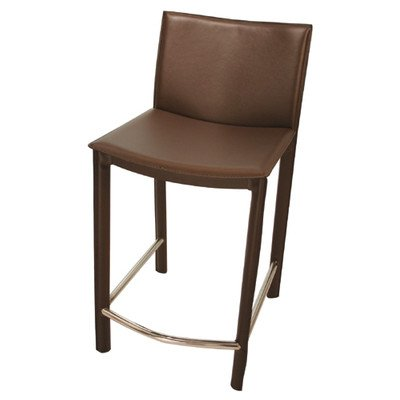 Tag Furnishings Group tag - Elston Counter Stool, A Sleek & Contemporary Chair, A Perfect Addition to Any Home, Brown