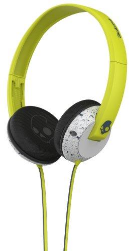 Skullcandy Uprock Headphones Hot Lime/Light Gray/Dark Gray, One Size