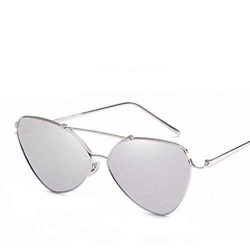 Aoligei L'actuels hommes et les femmes du même style lunettes de soleil lunettes de soleil rétro EKUo9
