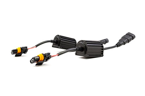 Morimoto CANBUS Standalone Wiring Harness (9005/9006/9012) - Two Error-Cancelling CANBUS Modules, For Use with Any 35W-50W HID Ballast, Fits 9005/9006/9012 style inputs