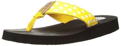 Price comparison product image Yellow Box Girls' Zadie2 Sandal, Yellow, 4 M US Big Kid