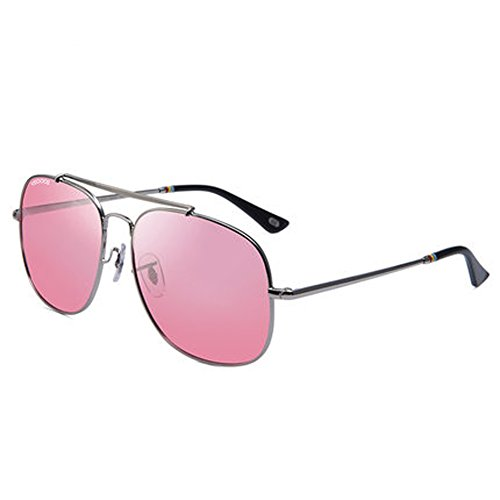 Men's and women's sunglasses men's sunglasses couple glasses new driving glasses personality frog eyes polarizer,F by ZY Sunglasses