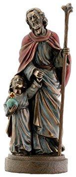 - Joseph and Jesus Religious Christian Catholic Statue