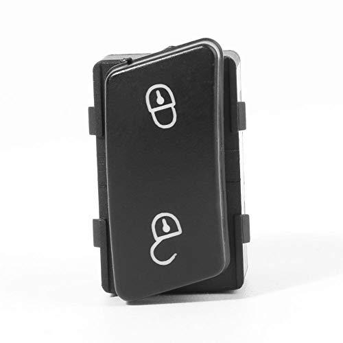 Aramox Central Door Control Locking Lock Unlock Switch Button for Caddy Touran 1T0962125B