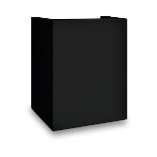 Model Black Pedestal - Mesa Safe MP916-BLK Hotel/Residential Pedestal for Safe Model MHRC916E-BLK, Black