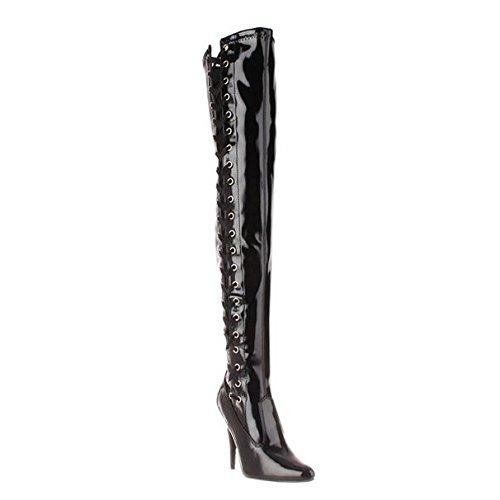 Pleaser Seduce-3050 - sexy talon hauts chaussures femmes cuissardes bottes 36-45