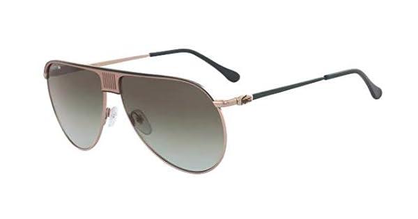 Amazon.com: Lacoste L200s Aviator - Gafas de sol para hombre ...