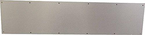 Schlage Lock #SC8400PA-619 8X34 Satin Nickle Kick Plate