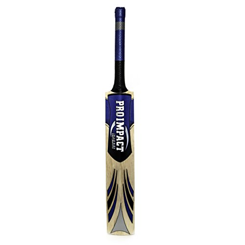 Pro Impact Practice Tennis Ball Cricket Bat, Full Adult Size by Pro Impact