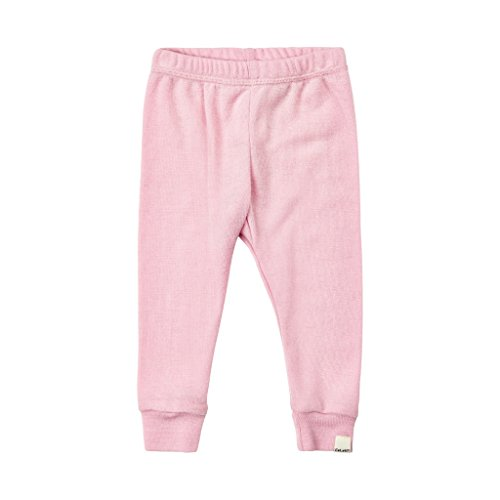 Price comparison product image 100% Merino Wool Pink Pants/Base Layer/Pajamas/Bottoms/Leggings (3M-4T)