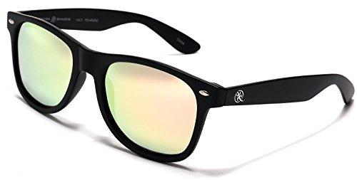 Samba Shades Polarized Modern Venice Wayfarer Sunglasses