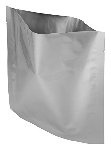 Dry-Packs Mylar Bags for Dried Dehydrafted, 8 by 8-Inch, 1-Quart, Pack of 50