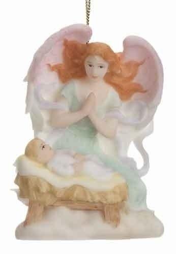 2011 Seraphim Classics Annual Angel Ornament - Gloria: Heavenly Adoration