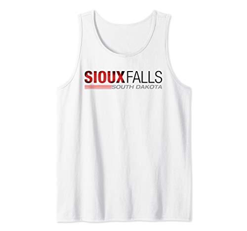 (Sioux Falls South Dakota Hometown Pride Tank Top )