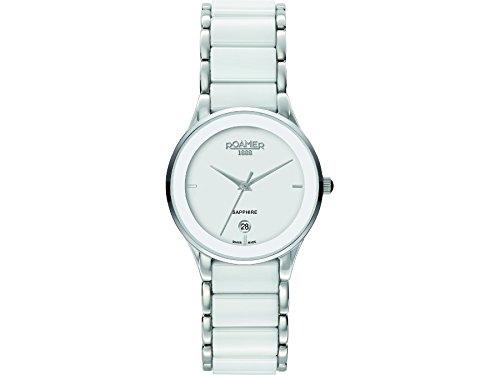 Roamer Women's Quartz Watch CERALINE 677981 SC1 with Metal Strap