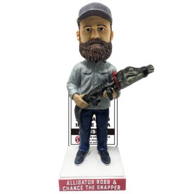 Frank Alligator Robb and Chance The Snapper Limited Edition Chicago Bobblehead