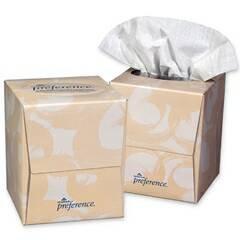 Facial Tissue, Preference, Cube, PK36 46200