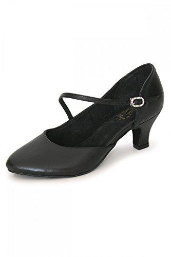Roch Valley RV801' Ballroom Shoe Black
