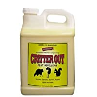 Mouse, Rat and Rodent Repellent: Critter Out 2.5 Gallon Concentrate (Makes 25 Gallons)