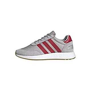 adidas Originals Men's I-5923 Shoe, Grey/Scarlet/Gum, 5.5 M US