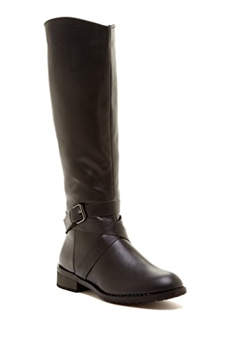 Cheap Leather Riding Boots - 1