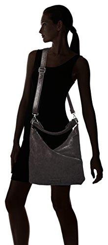 Fritzi aus Preussen Oksana - Shoppers y bolsos de hombro Mujer Gris (Fango)