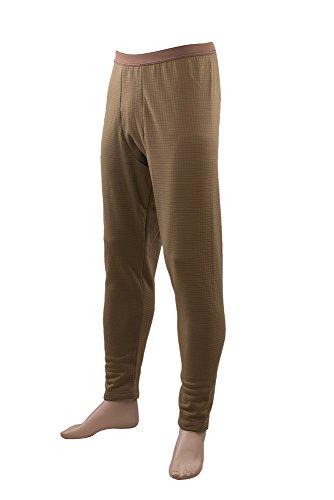 Tru-Spec 2075 Mens Gen-III ECWCS Level-2 Bottom, Coyote - (Ecwcs Underwear Bottoms)