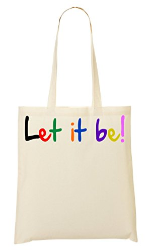 De Bag It La Slogan Colorful It Be Handbag Bolsa De Let Bolso Be Slogan Compra Shopping Mano Colourful Let qUdwPq