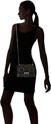Ivanka Trump Mara Cocktail Bag-Black Lasercut