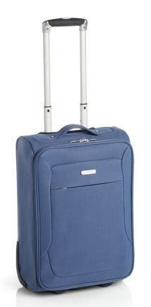 maleta ruedas – Extrem Ligero – 4 Ruedas – Plisados – 3 Tallas – 77cm/3,1 kg, 67cm/2, 8kg, 53cm/2, 1kg – Color: azul – Azul, S