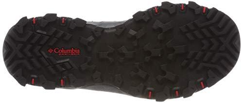40 Pass Columbia black Ltr Hautes Lincoln Chaussures Noir 010 De Mid Eu Camelhia Red Outdry Randonnée Femme wwqZrP