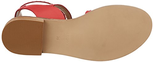Bronx Women's Bx 1465 Bthrillx Open Toe Sandals, Black, 5 UK Red (Bright Red 33)
