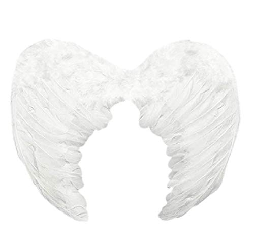 Baby Angel Wings (DXBVS Angel Wings Feather Cosplay Halloween Party Costumes Feather Angel Wing for Kids Adults Women)