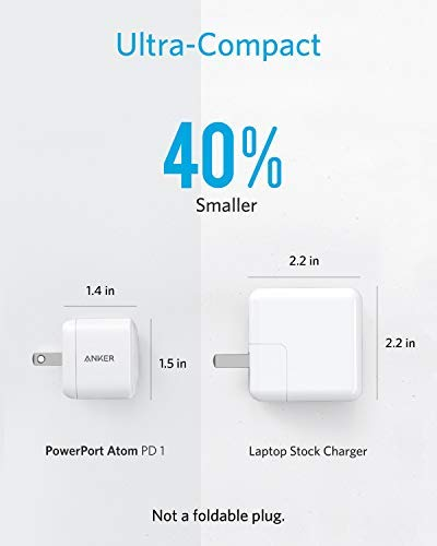 USB-C-Charger-GaN-Technology-Anker-30W-Ultra-Compact-Type-C-Wall-Charger-with-Power-Delivery-PowerPort-Atom-PD-1-for-iPhone-XsMaxXR-iPad-Pro-MacBook-12-Pixel-Galaxy-S10S9S9S8-and-More