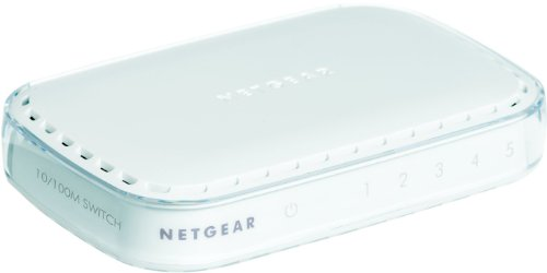 Netgear FS605 5-Port Fast Ethernet Switch (FS605) by NETGEAR