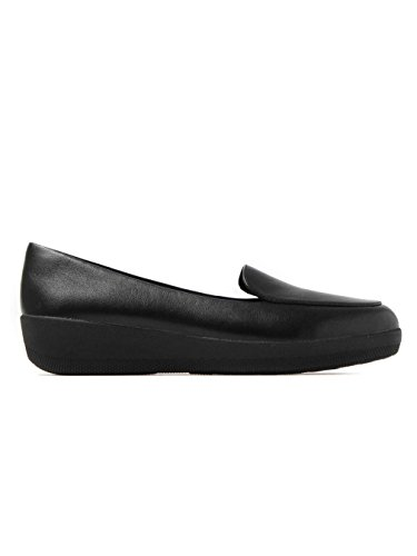 Sneakerloafer - All Black Leather Todo Negro